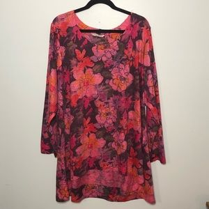 Soft Surroundings Floral Tunic